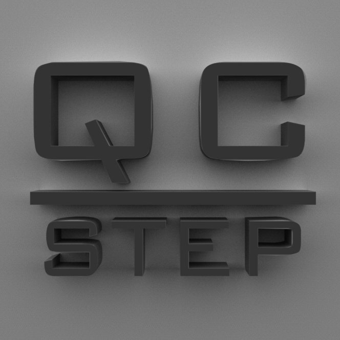 QC STEP Logo - Square